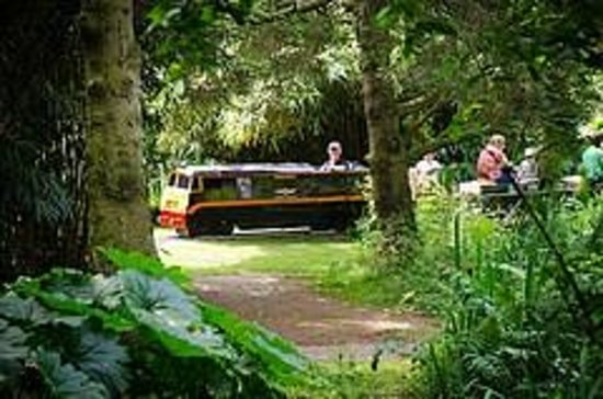 Newby Hall and Gardens: Miniature train