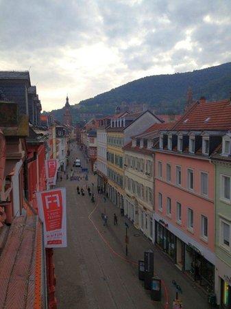 The Dubliner Hotel and Irish Pub: Aussicht vom Balkon