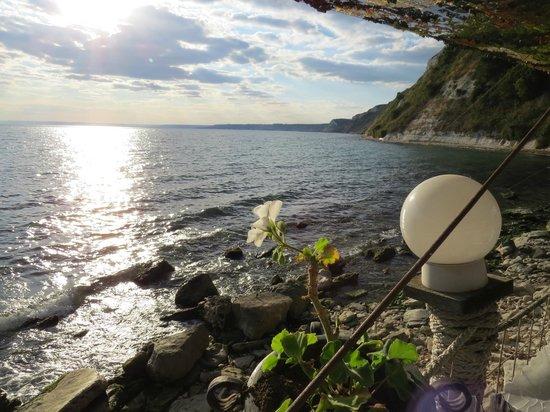 Dalboka Mussels Farm: Dalboka - a view from the restaurant