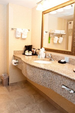 Hampton Inn East Windsor : Guest Bathroom