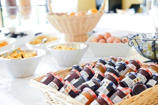Best Western Porte Sud De Geneve : Buffet de petit-déjeuner