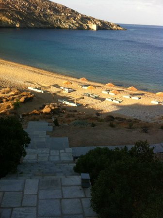 Coco-Mat Eco Residences Serifos: παραλία Βαγιάς