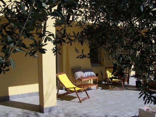 Casa del Cavaliere: Reserved patio