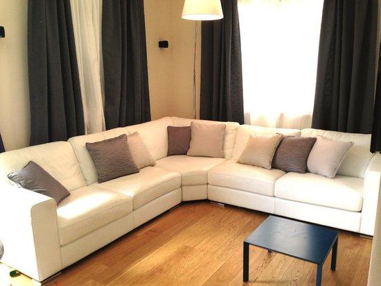 Casa del Cavaliere: Living room