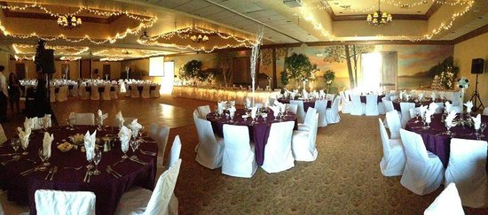 Stone Harbor Resort: This is the reception hall the day of our wedding :)