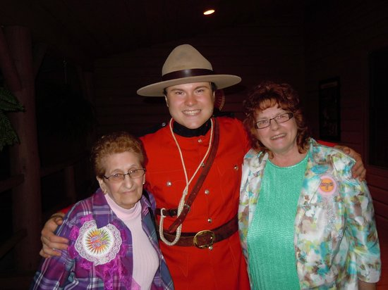 Oh Canada Eh? Dinner Theatre: Aunt Jeanette and Lory and the Mounty