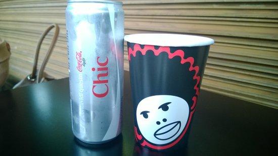 Mama Burger : Coca e bicchiere