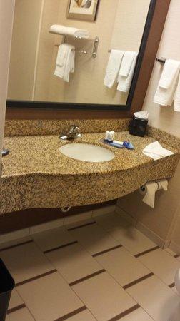 Fairfield Inn & Suites Orlando International Drive/Convention Center: Clean Modern Bathroom