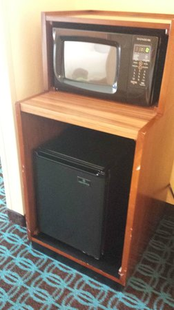 Fairfield Inn & Suites Orlando International Drive/Convention Center : Mini Microwave/& Mini Fridge As Requested