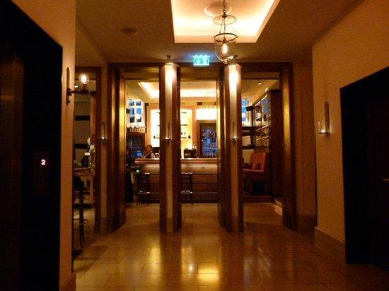 Hotel Die Sonne Frankenberg: Eingang zum Bistro