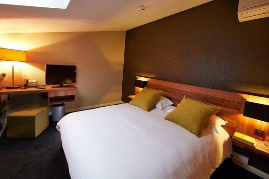 Atrium Hotel : Chambre Duplex - partie haute chambre
