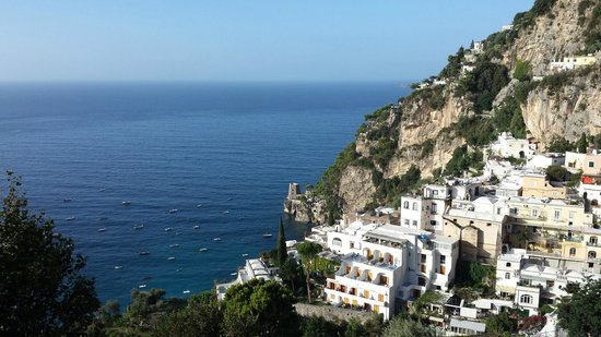 Positano Art Hotel Pasitea: View from the balcony