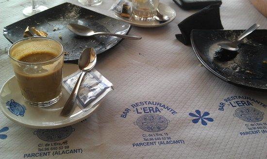 L'Era: Уже все съели, остался только кофе