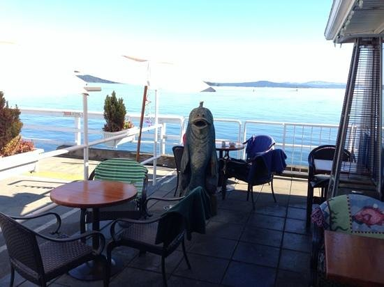 The Pier Bistro: Outside Seating--Pier Bistro