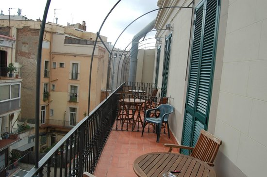 Nouvel Hotel : View of our balcony