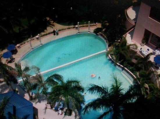 Moevenpick Hotel Mactan Island Cebu : pool view