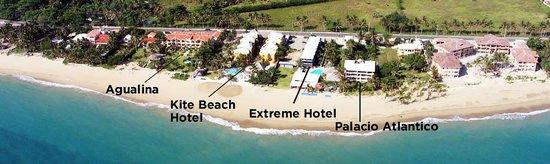 Extreme Hotel S Location On Kite Beach