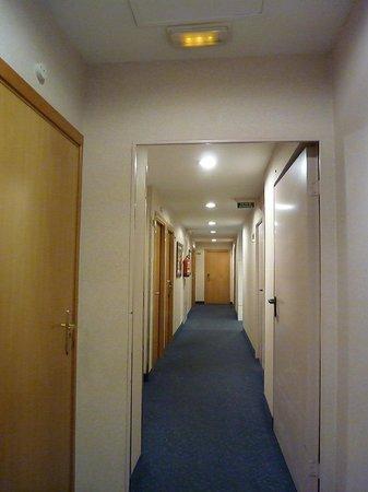 HCC Montblanc: Hotel Corridor