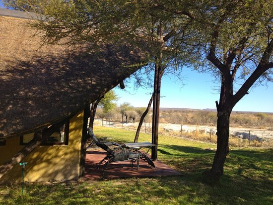 Tau Game Lodge: our chalet