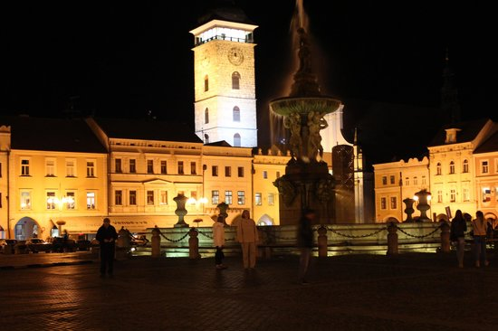 Clarion Congress Hotel Ceske Budejovice: Main Square - 10 minutes max from hotel