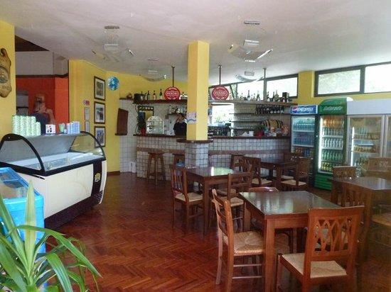 I Pini Family Park: cafe - next to main restaurant