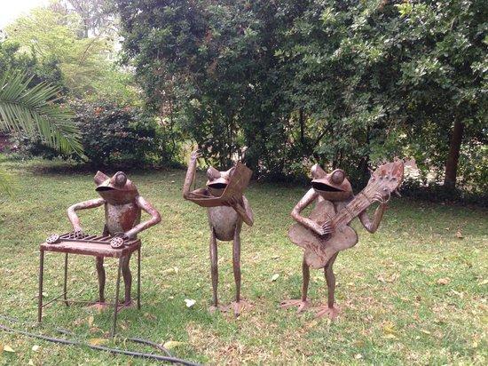 Wildebeest Eco Camp: objets artistiques