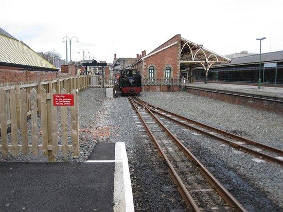 Vale of Rheidol Railway: Bahnhof in Aberystwyth
