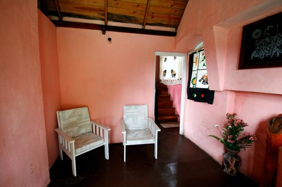 Sincere Wilderness: Entry sitting room (study room)