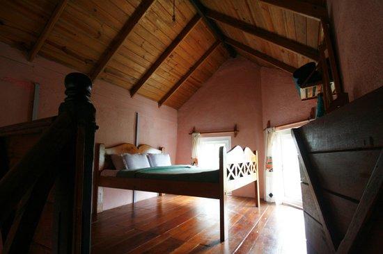 Sincere Wilderness: Bedroom loft