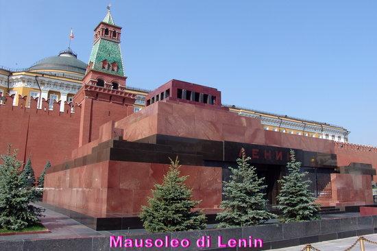 Lenin's Mausoleum : Il Mausoleo di Lenin