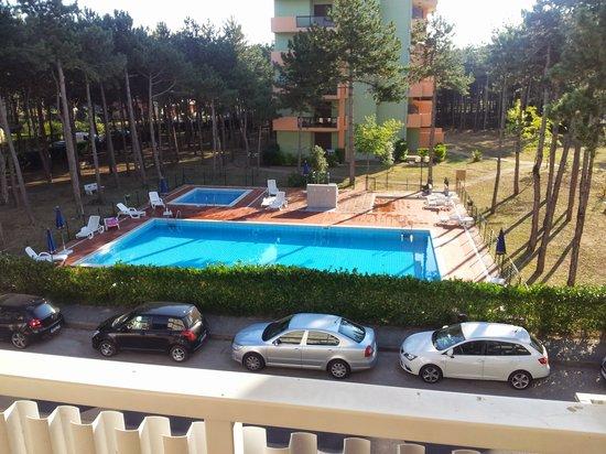 Hotel Airone: vista dal balcone