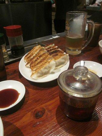 Harajuku Gyozaro: Fried gyozas