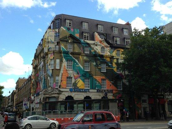 Hotel Megaro: Outside of the Megaro