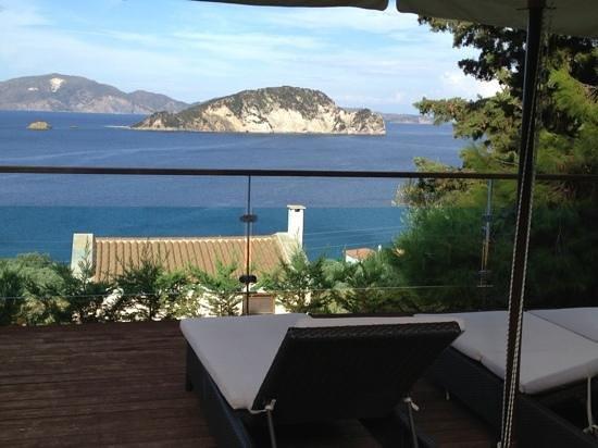 Exensian Villas & Suites: view from villa
