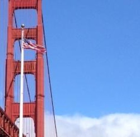 Fort Point National Historic Site: Golden Gate views are breattaking