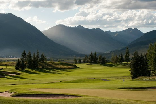 The Club at Crested Butte: View of the course