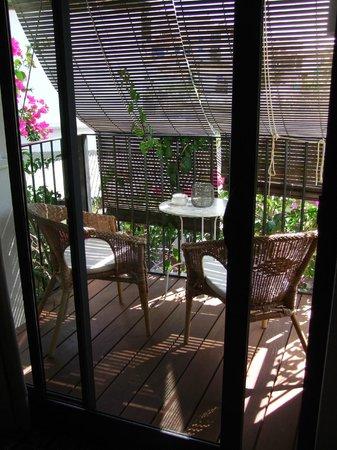 Hotel Boutique Horta d'en Rahola : Balkon