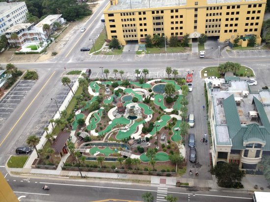Anderson Ocean Club And Spa Oceana Resorts Mini Golf Course Lost Mine