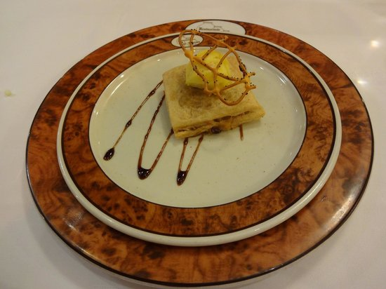 Restaurante Las Tinajas: lamb cake
