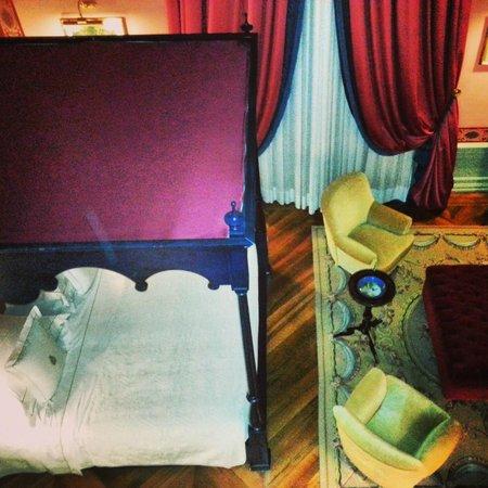 Villa Cora: Suite (room 102) from mezanine floor