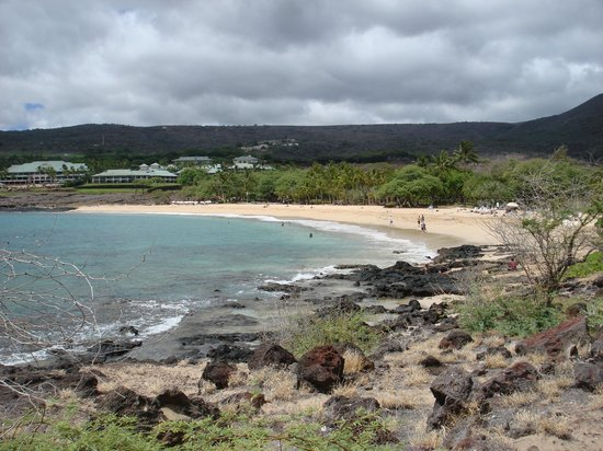 Kealia Resort: The beach in Lanai