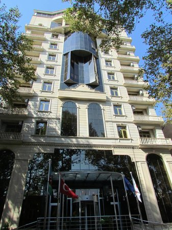 Central Park Hotel: Hotelfront
