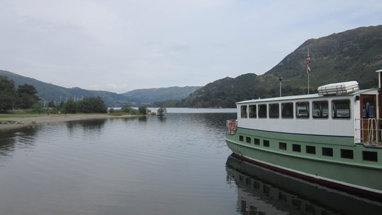 Ullswater Steamers: Glenridding