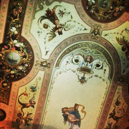 Villa Cora: Ceiling in 102