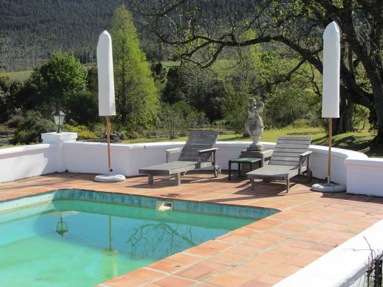 Redford House: Pool area