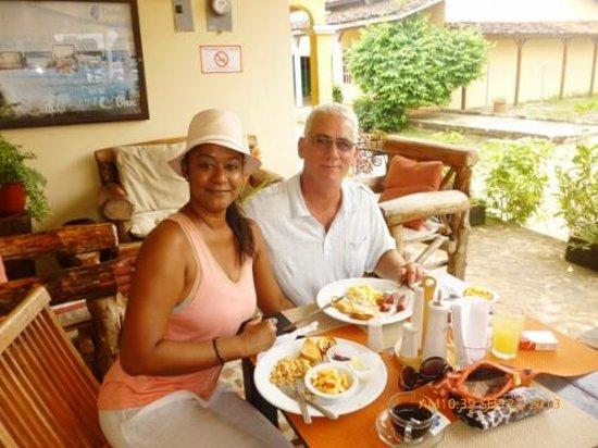 Pedasito Hotel: très bon petit déjeuner