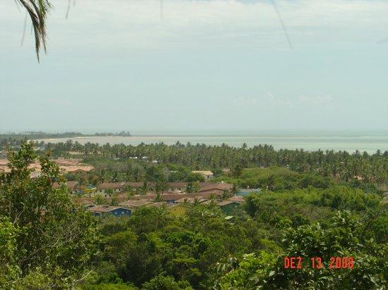 Xurupita Holiday Resort: Vista da Varanda