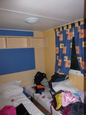 Camping Indigo: 1 of the bedrooms (another like this and one with queen bed)