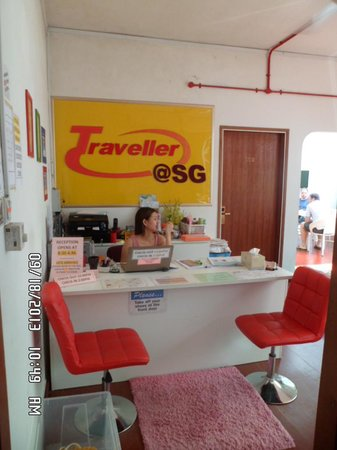Traveller@SG : receiving area