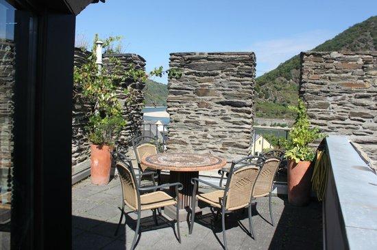 Weinhaus Weiler: Terrace